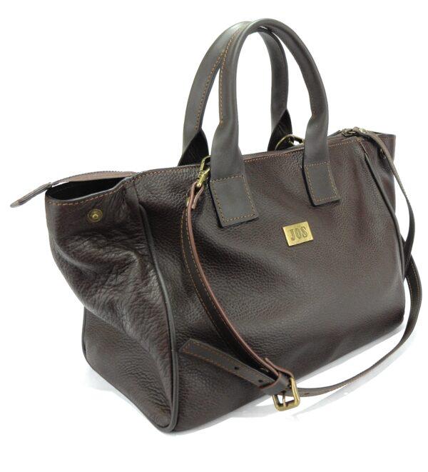 bolsos de piel marrón