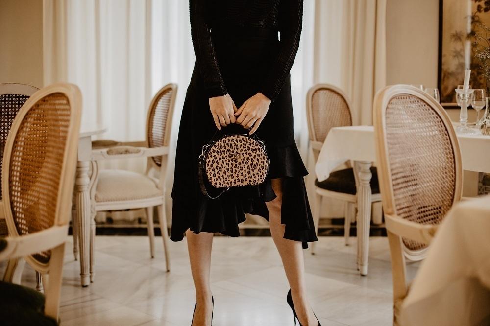 bolsos de pelo de leopardo