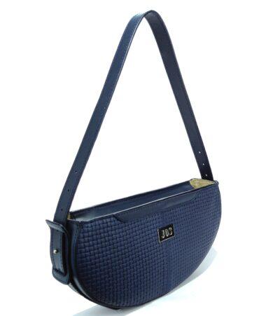 bolsos de piel mujer azul